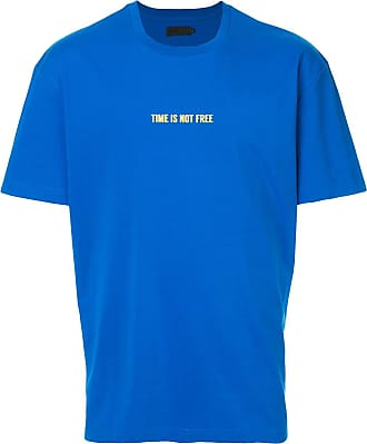 Off Duty Camiseta Time Is Not Free - Azul