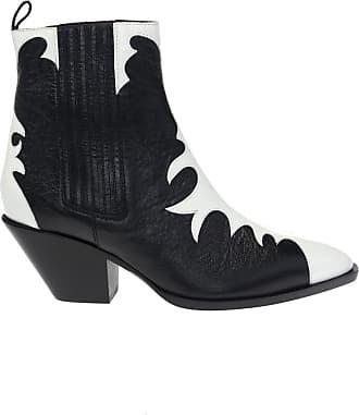 Giuseppe Zanotti Helena Heeled Ankle Boots Womens Black
