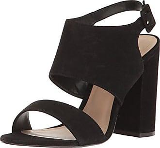 9be1067760c Aldo Womens Elise Heeled Sandal Black Nubuck 8 B US