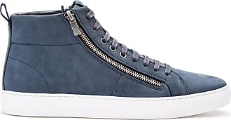 boss high top trainers