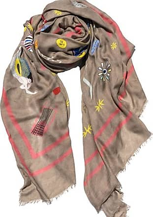 Cyclades Olympia Cashmere Blend Scarf in Beige
