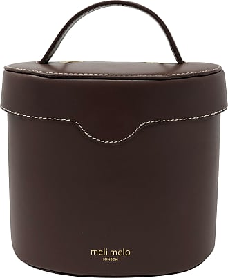 Meli Melo Meli Melo Kitty Argan Brown Leather Cross Body Bag for Women