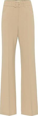 Nanushka Clara belted high-rise flared pants