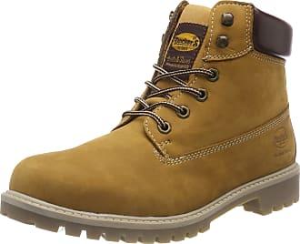 Dockers by Gerli Womens 43st201 Combat Boots, Yellow (Golden Tan 910), 4.5 UK