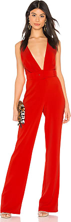 NBD x Naven Kendall Jumpsuit in Red