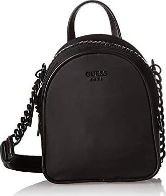 Guess Urban Chic Nylon Mini Crossbody Bag, Black, One Size
