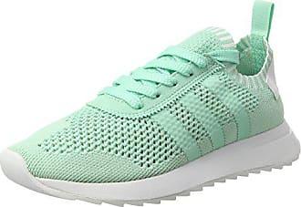 9a0002aaebdcdc adidas Damen Flashback Primeknit Sneaker Türkis Easy Green Footwear White