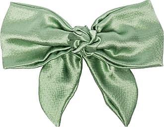 Jennifer Behr Presilha de cabelo Naples com detalhe de laço - Verde