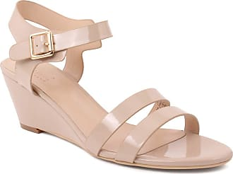 Unze Unze Women Candance Ankle Strap Party Get Together Carnival Wedge Sandals - Beige - 5 UK