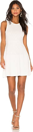 Parker Mabel Knit Dress in White