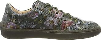 Think Womens Turna_585041 Low-Top Sneakers, (Oliv/Kombi 63), 4.5 UK