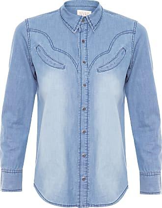 N.Y.B.D. Camisa Jeans Western N.y.b.d - Azul