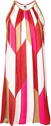 M Missoni Vestido de tricô estampado - Vermelho
