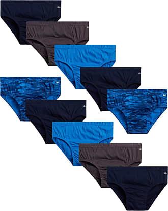 Reebok Performance Underwear Brief Black Electric Blue Medium Mens NWT