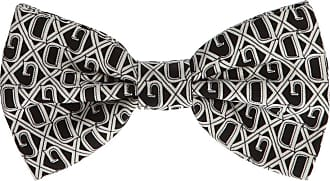 Dolce & Gabbana Patterned Bow Tie Mens Black