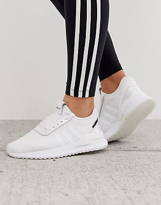 adidas Originals U Path Run sneakers in white
