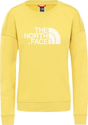 The North Face The North Face W Drew Peak Crew-EU TNF Black - Womens Sweatshirt - Yellow - S