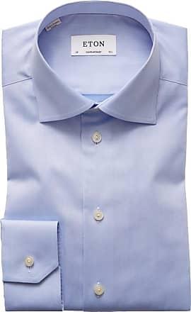 Eton Hochwertiges Businesshemd, Contemporary Fit von Eton in Hellblau für Herren