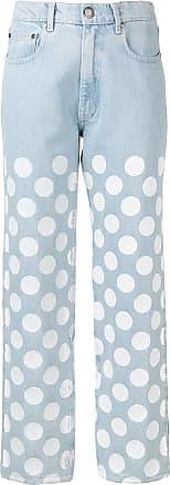 House Of Holland Calça jeans com poá - Azul