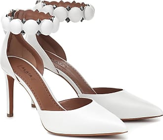 Alaia Bombe 90 leather sandals