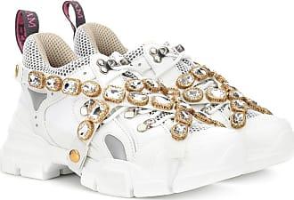 Gucci Sneakers Flashtrek mit Kristalle