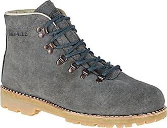 Merrell Mens Wilderness USA Suede Hiking Boot, Steel Grey, 7 M US