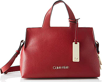 Calvin Klein NEAT F19 MED TOTE Womens Cross-Body Bag, Red (Barn Red), 20.3x15.2x27.9 centimeters (B x H x T)