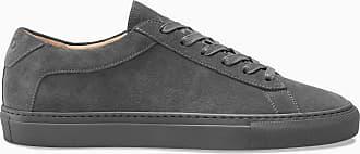 KOIO Mens Low Top Roccia Grey Leather Suede Capri 12 (US) / 45 (EU)