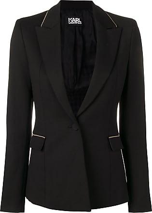 Karl Lagerfeld Blazer de alfaiataria - Preto