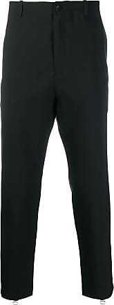 OAMC zip leg cropped trousers - Black