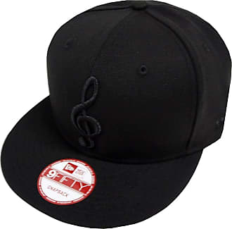 New Era Music Note Black On Black Snapback Cap 9fifty Exclusive Limited Edition