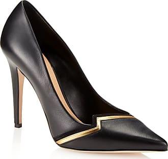 Tamara Mellon Blaze Black Nappa Pumps, Size - 35.5