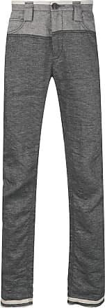 Ziggy Chen straight-leg trousers - Grey