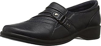 Easy Street Womens Giver Flat, Navy, 6 M US