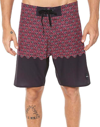 Rvca Bermuda Rvca Boardshort Dutch Trunk Vinho