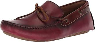 G.H. Bass & Co. Mens Wyatt Driving Style Loafer, red, 7 Medium US