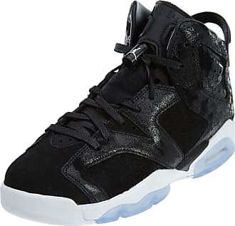 Nike Jordan Nike Air Jordan 6 Retro Prem HC GG Hi Top Trainers 881430 Sneakers Shoes (UK 5.5 us 6Y EU 38.5, Black White Gym red 029)