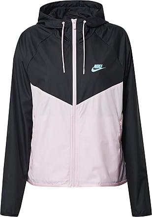 Nike Jacke schwarz / pink / blau