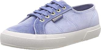 Superga Womens 2750-velvetchenillew Gymnastics Shoes, Blue (Blue Sky 129), 5 UK