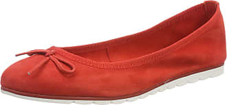 Marco Tozzi Womens 2-2-22133-22 Ballet Flats, Red (Red 500), 5 UK