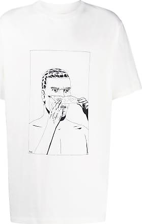 424 T-Shirt mit Print - Weiß