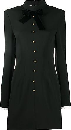 Philosophy di Lorenzo Serafini button detail mini dress - Black