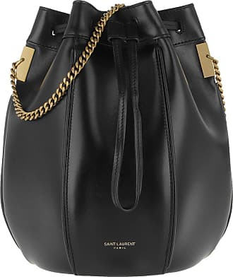Saint Laurent Talitha Small Bucket Bag Smooth Leather Black Beuteltasche schwarz