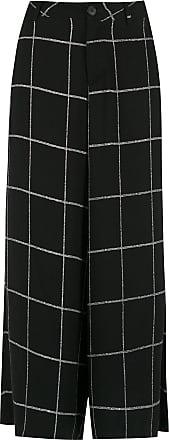 Uma check Conrado pants - Black