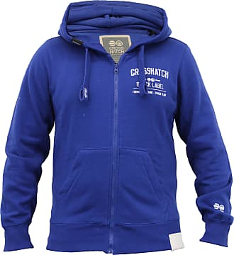 Crosshatch Mens Beaky Hoody - Mazarine Blue - Medium