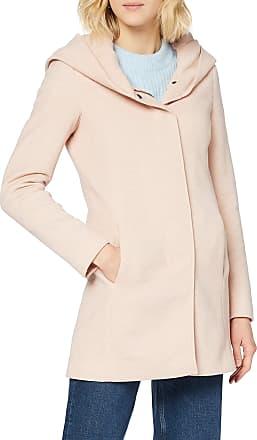 Vero Moda Womens Vmverodona Ls Jacket Noos Coat, Pink (Mocha Mousse Detail:Melange), 16 (size: X-Large)