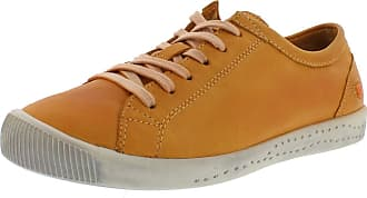 Softinos Isla Womens Trainers Orange Size: 8.5 UK