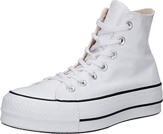 Converse Sneakers hoog Chuck Taylor All Star Lift wit / zwart