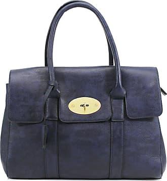 Your Dezire YDezireWomens Designer Frame Office Tote Bag Ladies Handbag Work Shoulder Bag New UK (Navy)