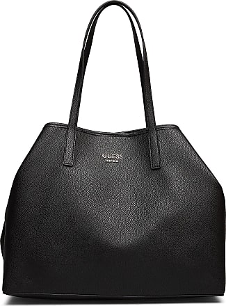 Guess Vikky Large Tote Bags Shoppers Fashion Shoppers Svart GUESS
